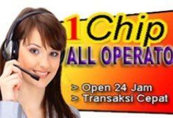 layanan isi ulang pulsa elektrik 1 chip all operator